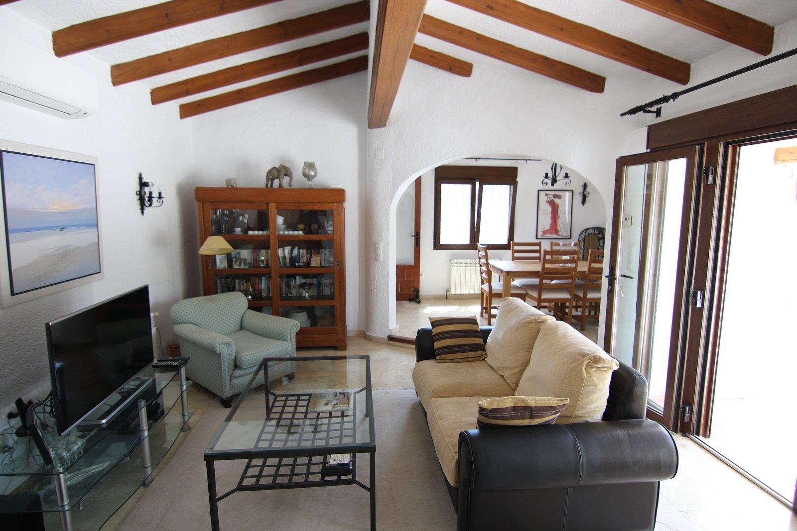 Villa for sale in Moraira with swimming pool.